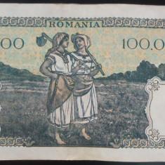 Bancnota 100000 lei - ROMANIA, anul 1946 / Octombrie *cod 55