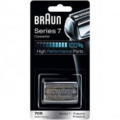 Rezerva pentru aparat de ras Braun 70S Seria 7 si Braun Pulsonic Argintiu