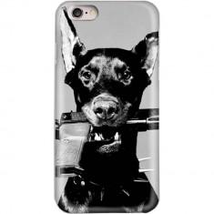 Husa Protectie Spate Star AMADOBER_IP6 Doberman pentru APPLE iPhone 6, iPhone 6S