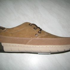 Pantofi barbati WINK;cod LY7199-1(bej);marime:41-46, Marime: 43, 44, 45, Piele sintetica, Casual