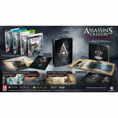 Joc consola Ubisoft ASSASSINS CREED 4 BLACK FLAG SKULL EDITION Pentru WIIU