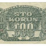 SV * Cehoslovacia 100 KORUN 1944  Comandamentul Armatei Rosii   SPECIMEN   AUNC+