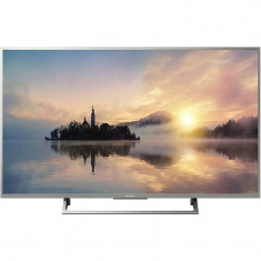 Televizor Sony LED Smart TV KD55 XE7077 139cm Ultra HD 4K Silver - Televizor LED