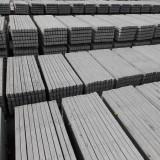 Stalpi Beton cu Musteti pentru Gard, Transport Gratuit, 20% Reducere