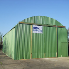 Hala metalica prefabricata SH - Spatiu comercial de vanzare, Parter, 117 mp, An constructie: 2007