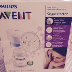 Pompa electrica avent, pompa manuala Chicco si Bonus protecții mameloane - Pompa San