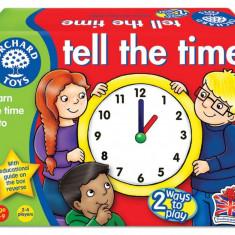 Joc educativ loto in limba engleza - Citeste ceasul orchard toys
