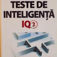 TESTE DE INTELIGENTA, IQ-2 de KEN RUSSELL, PHILIP CARTER, 2012 - Carte Psihologie