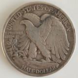 Statele Unite ale Americii - 1/2 Dollar 1936 - Argint, America de Nord