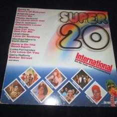 Various - Super 20 International _ vinyl, LP _ Ariola (Germania) - Muzica Pop ariola, VINIL