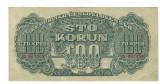 SV * Cehoslovacia 100 KORUN 1944  Comandamentul Armatei Rosii   SPECIMEN   -AUNC
