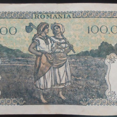 Bancnota 100000 lei - ROMANIA, anul 1946 / Octombrie *cod 59