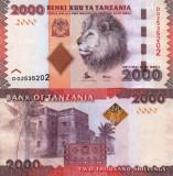 TANZANIA 2.000 shillings ND 2015 UNC!!!