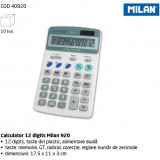 Calculator 12 digits Milan 920. - Calculator Birou