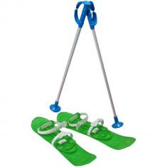 Skiuri Junior - Marmat - Verde - Sanie