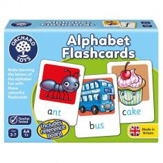 Joc educativ in limba engleza - Alphabet Flashcards orchard toys