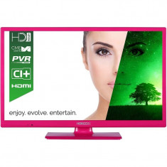 Televizor Horizon LED 24 HL7102H 60cm HD Ready Pink - Televizor LED Horizon, 61 cm, Smart TV