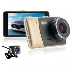Camera auto Dubla DVR fata/spate, Full HD, 4 Inch, 170 grade - Camera video auto