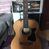 Chitara acustica Ibanez, set complet