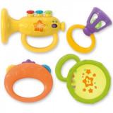 Set 4 Zornaitori Bebelusi Winfun Instrumente Muzicale - Jucarie zornaitoare