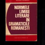 Normele limbii literare in gramaticile romanesti - Mariana Costinescu