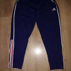 Pantaloni trening Adidas ( lungime 100cm, talie 100cm maxim) - Pantaloni barbati Adidas, Marime: M/L, Culoare: Din imagine