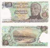 ARGENTINA 50 pesos P-314 UNC!!!