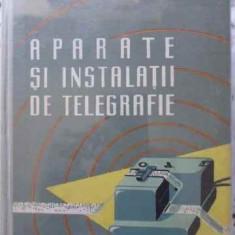 Aparate Si Instalatii De Telegrafie - Al. Dingher, 401554 - Carti Electrotehnica