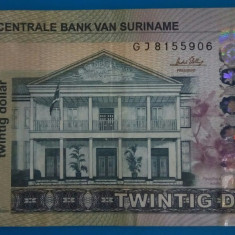 SV * Suriname 20 DOLLAR 2012 VF+