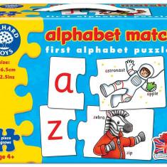 Puzzle orchard toys in limba engleza - Invata alfabetul prin asociere