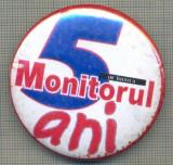 ZET 947 INSIGNA ZIARISTICA - MONITORUL - 5 ANI IN BRAILA
