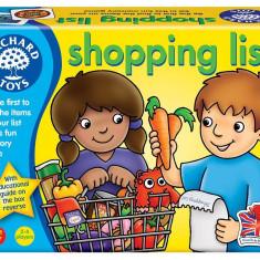 Joc educativ in limba engleza - Lista de cumparaturi orchard toys