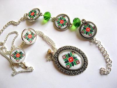 Set bijuterii model traditional 29480 foto