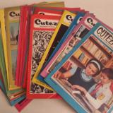 """REVISTA """"CUTEZATORII"""", 35 REVISTE, ANUL 2 SI 3 / 1968-1969 - Carte de povesti"""
