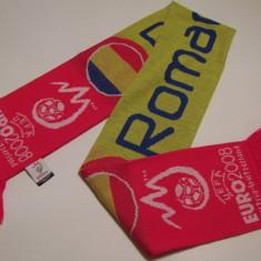 Fular fotbal - ROMANIA EURO 2008 (produs oficial UEFA)