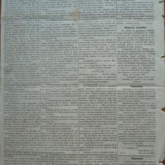 Ziarul Albina , nr. 88 , 1871 , Budapesta , in limba romana , Director V. Babes