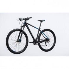 Bicicleta CUBE ATTENTION Black Blue 2017 - Mountain Bike Cube, 29 inch, Numar viteze: 30