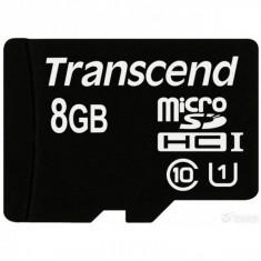 Card memorie Transcend Micro SDHC 8GB Class 4