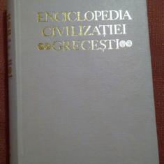 Enciclopedia Civilizatiei Grecesti - Enciclopedie