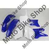 MBS Kit plastice Yamaha YZ 125-250 2002-05, albastru/alb, culoare OEM, Cod Produs: YAKIT301999