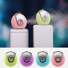 Umidificator si aromatizor portabil pentru telefon