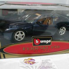 Macheta Ferrari 456 GT - 1992 - Burago scara 1:18 - Macheta auto
