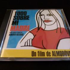 Todo sobre mi madre- cd - Muzica soundtrack Altele