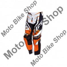 MBS Pantaloni motocross Ufo Voltage, portocaliu/alb, 54, Cod Produs: PI04377F54 - Imbracaminte moto