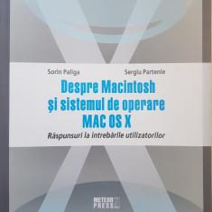 DESPRE MACINTOSH SI SISTEMUL DE OPERARE MAC OS X - Paliga, Partenie