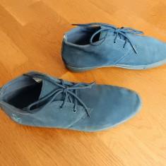 Pantofi Munk, piele naturala; marime 43 (27.5 cm talpic interior) - Pantofi barbat, Culoare: Din imagine