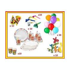 Set Articole Accesorii Petrecere Aniversari(Coifuri, Baloane, Trompete)