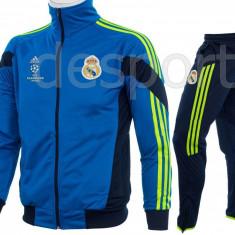 Trening REAL MADRID - Bluza si pantaloni conici - Modele noi - Pret Special 1197 - Trening barbati, Marime: S, M, L, XL, XXL, Culoare: Din imagine