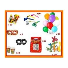 Set Accesorii Articole Petrecere Aniversari(Coifuri, Baloane, Masti, Lumanari)