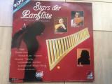 Stars Der Panflote Zamfir Dinu Radu Tarcolea 2 lp dublu disc vinyl muzica world, VINIL